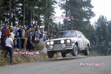El Señor Vatanen nos Ford Escort RS1800 campeón mundial Rally 1981 fotografía 1