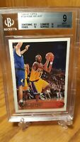 1996-97 Topps #138 Kobe Bryant Los Angeles Lakers RC Rookie BGS 9 Mint w3/10's$$