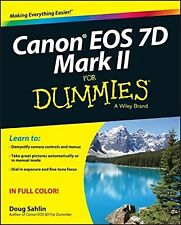 Canon Eos 7D Mark II for Dummies NEW BOOK