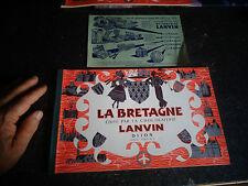 Album d'Images Chocolat La Bretagne Vides et Feuillet des Cadeaux Publicitaires