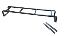 Defender 90/110 Roof Rack Rear Access Ladder textured black fits many vehicles