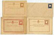 Portugal + açores entiers postaux 4 objets