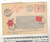 SWITZERLAND 1939  POSTAGE DUES/ INVALID POSTAGE ENVELOPE. PLEASE SEE PICTURES