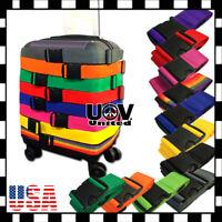 Lot Travel Luggage Suitcase Strap Belt Baggage Backpack Bag Package TSA UU