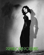 """AVA GARDNER 8X10 Lab Photo 1946 """"KILLERS"""" ELEGANT Gown Movie Star Portrait"""