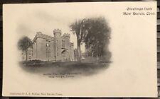 NEW HAVEN CT Yale University Alumni Hall Undivided Back Photo PostCard Pre 1907