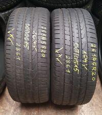 2 x 265/45 R20 104Y Pirelli Sommerreifen DOT 0515