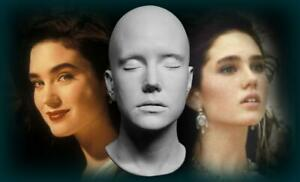 Jennifer Connelly 1:1 Life Mask  - Labyrinth - The Rocketeer - Top Gun 2