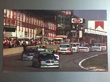 1991 German Touring Car Championships Print, Picture, Poster RARE!! Awesome L@@K