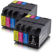 8 kompatible Patronen für Lexmark OfficeEdge Pro 4000 5500 Nr. 200 XLA BK/C/M/Y