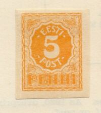 Estonia 1919 Early Issue Fine Mint Hinged 5p. 066648