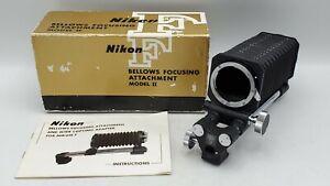 Nikon F Bellows Focusing Attachment Model II for F Mount Cameras/Lenses