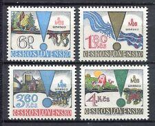 33300) CZECHOSLOVAKIA 1979 MNH** UNESCO 4v