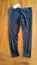 Laila & Spot Black 3/4 leggings designed for new Mums szM BNWT free post D92