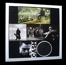 JOHNNY CASH+Ring Of Fire+LTD+GALLERY QUALITY FRAMED+FAST WORLD SHIP+Not Signed