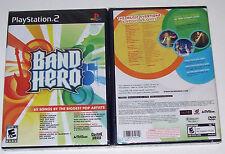 Band Hero (Sony PlayStation 2, 2009) PS2 Taylor Swift Adam Levine Nelly Furtado
