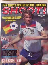 Shoot Magazine Soccer 18/10/1980 Liam Brady alla Juventus con foto squadra