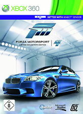 Forza Motorsport 4 -- Limited Collector's Edition (Microsoft Xbox 360, 2011,...