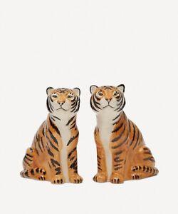 Quail Ceramics    Salt & Pepper Pots  The  Tigers.