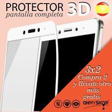 Protector Pantalla Xiaomi Redmi 4X/Note 4X Cristal Templado 9H Pantalla Completa