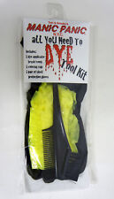MANIC PANIC Hair Dye Tool Kit With Applicator Brush Comb Gloves Cap NEW