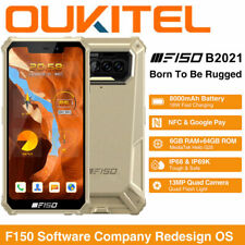 OUKITEL B2021 4G Rugged Android 10.0 Smartphone Waterproof Mobile NFC Cell Phone