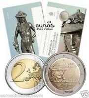 Pièce commémorative 2 euros SAINT MARIN 2016 BU - Donatello - 85 000 exemplaires