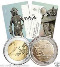 Pièce 2 euros commémorative SAINT MARIN 2016 - Donatello - Brillant Universel