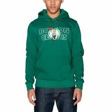 Sudadera capucha New Era Nba Boston Celtics Graphic Overlap Verde Hombre