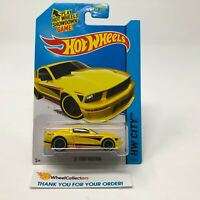 '07 Ford Mustang #94 * Yellow Kmart Only * 2015 Hot Wheels * Q21