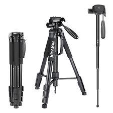 Neewer Portable Aluminum Alloy Camera Tripod Monopod for Canon Nikon Sony DSLR