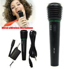 Handheld Q9 Wireless Bluetooth Karaoke Microphone Mini USB Mic Speaker Cable