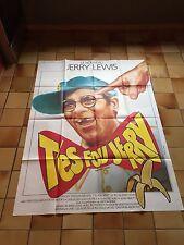 Cinéma - Jerry Lewis - T'es fou Jerry -  Movie Poster original - affiche