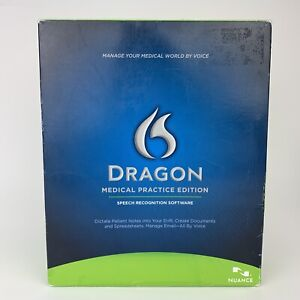 Used Software? Nuance Dragon Medical Practice Edition Speech Recognition