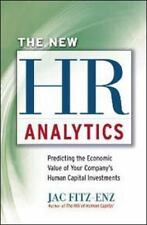 The New HR Analytics by Jac Fitz-enz USA Hardcover Book ~ Brand New