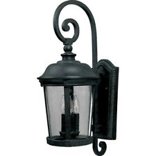 Maxim Dover Cast 3-Light Outdoor Wall Lantern Bronze - 3025CDBZ