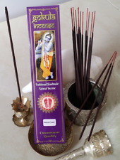 GOKULA INCENSE STICKS Bakula Flower - 20 grams (Hand Made Natural Organic)
