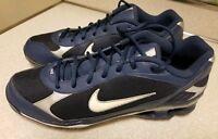 2007 NIKE ZOOM cleats. shoes men's blue men's size 13