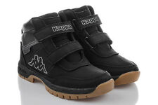 Scarpe stivali neri Kappa per bambini dai 2 ai 16 anni