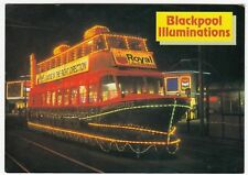 Trawler Tram During Illuminations, Blackpool PPC, By Hinde