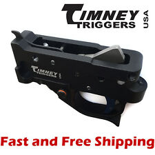 Timney Drop In Competition Trigger Group for Ruger 10/22 - Black Housing w/Blue