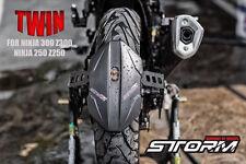 TWIN Rear Tire Hugger (Splash Guard)ABS for Kawasaki Ninja300/Z300/Ninja250/Z250