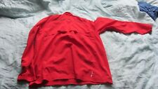 Adidas Climaproof Performance Run Wind Jacket Red Size Large (BRAND NEW)