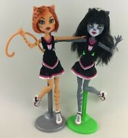 Monster High Fashion Doll Purrsephone Toralei Cat Kitty Cheerleaders Toys Mattel