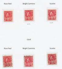 CANADA 1916, 2c WAR TAX SHADES,VF MINT/USED SG#231-3 Sc#MR3/3b CAT$340(SEE BELOW