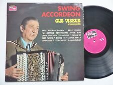 GUS VISEUR SWING ACCORDEON VALSE MANOUCHE JAZZ FRENCH 1971 LP VOGUE 9928 rrt