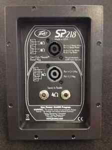 Peavey SP218 Replacement Crossover