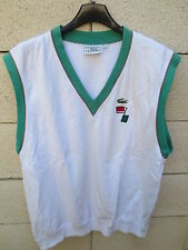 Sweat sans manche LACOSTE Devanlay tennis wam up look vintage 5