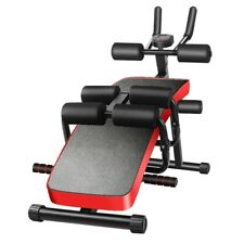 6In 1 Sit Up Bench Decline Abdominal Fitness Home Gym Exercise Workout Equipment