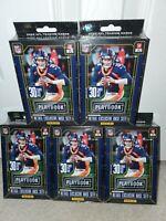 New Sealed 2020 Panini NFL Playbook Football Hanger Box Lot (5) ORANGE PARALLELS